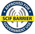 Ultra NT Radiant Barrier for SCIFs is approved for use in government buildings
