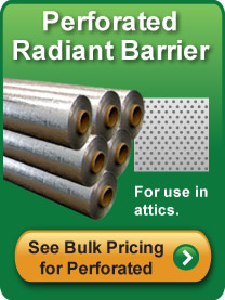 Perforated Radiant Barrier Bulk Pricing