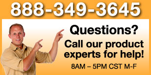 Questions? Call our product experts!