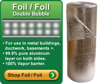 Double Bubble Foil Foil Insulation