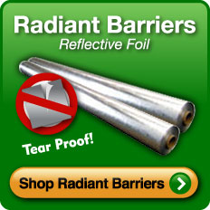 Radiant Barriers - Reflective Foil