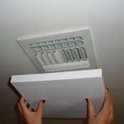 Elima-Draft Insulated Ceiling A/C Vent Cover