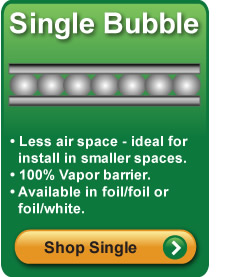 Single Bubble Foil Insulation